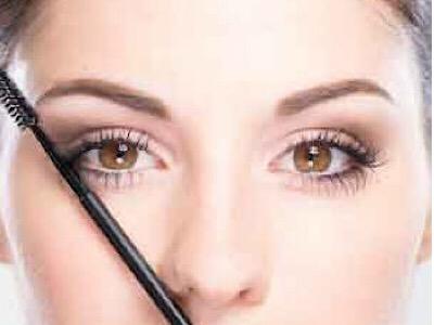 Wie du das Ende der Augenbraue findest