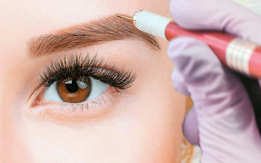 Microblading-Augenbrauen-permanent