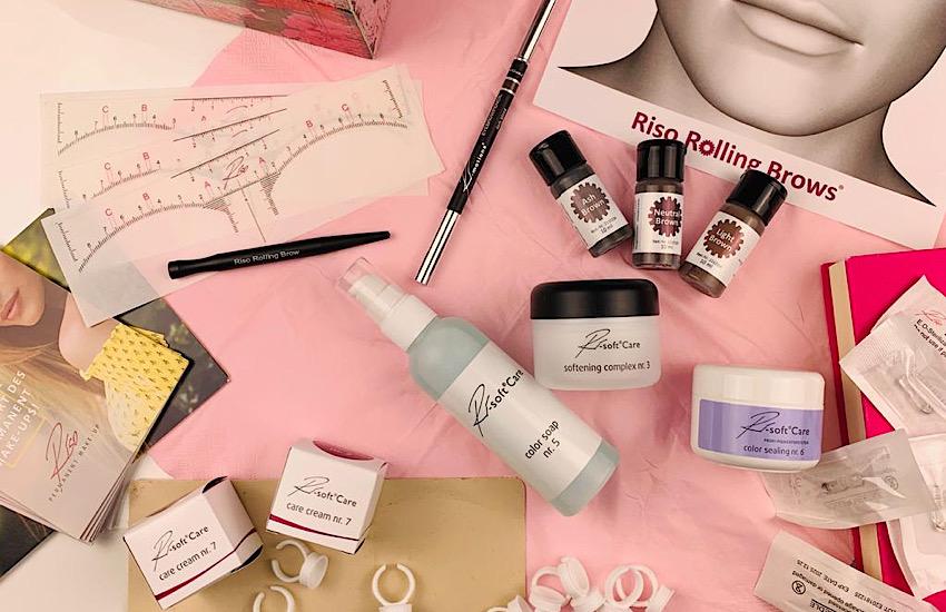 Riso Rolling Brows Komplettes für natürliche Augenbrauen