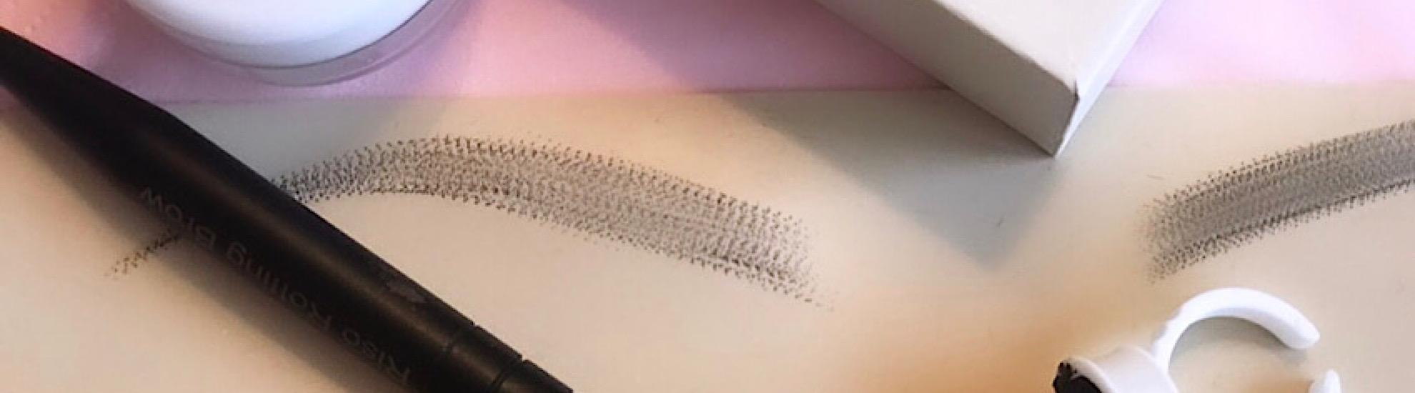 Rolling Brows Schulung Methode für natürliche Augenbrauen