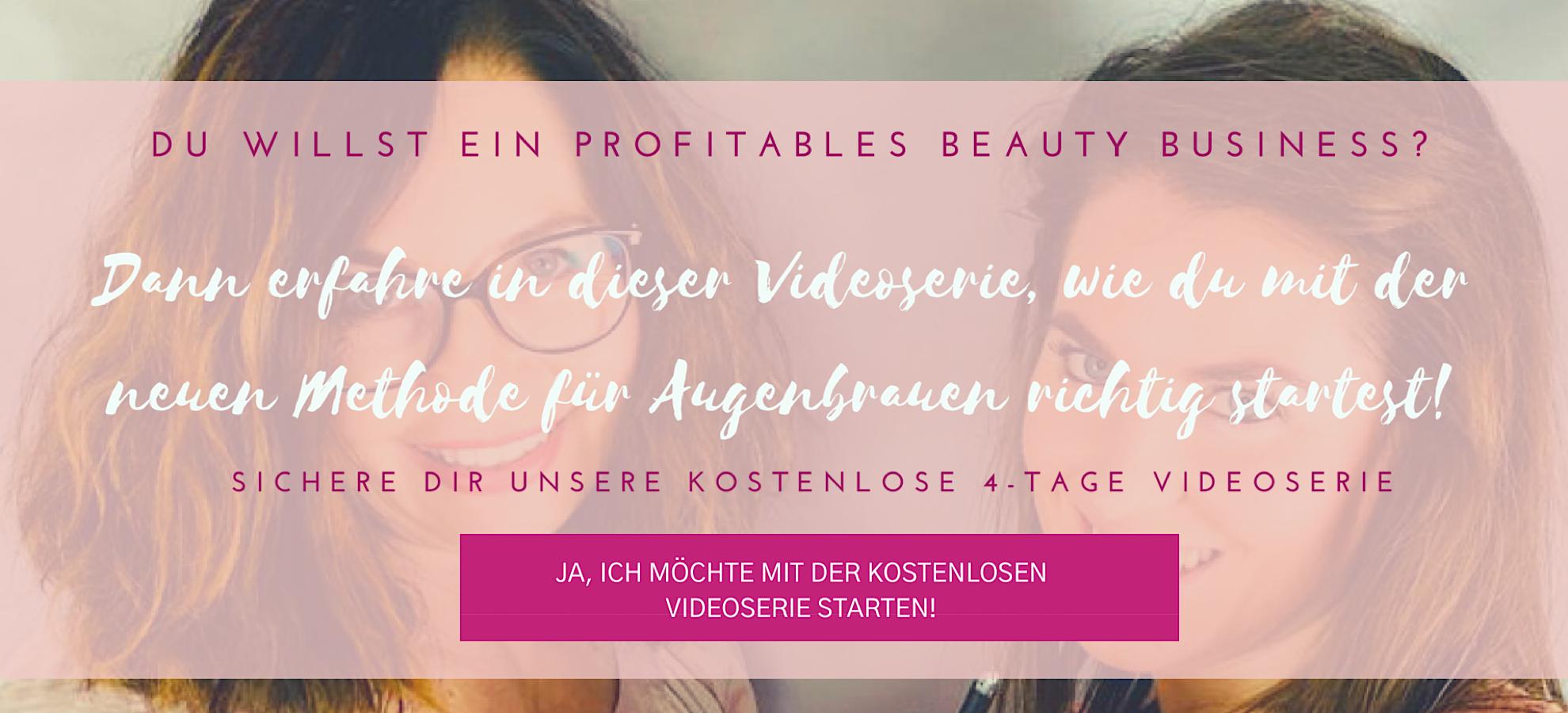 Ein lukrativer Beauty Business mit der neuen Methode für natürliche Augenbrauen