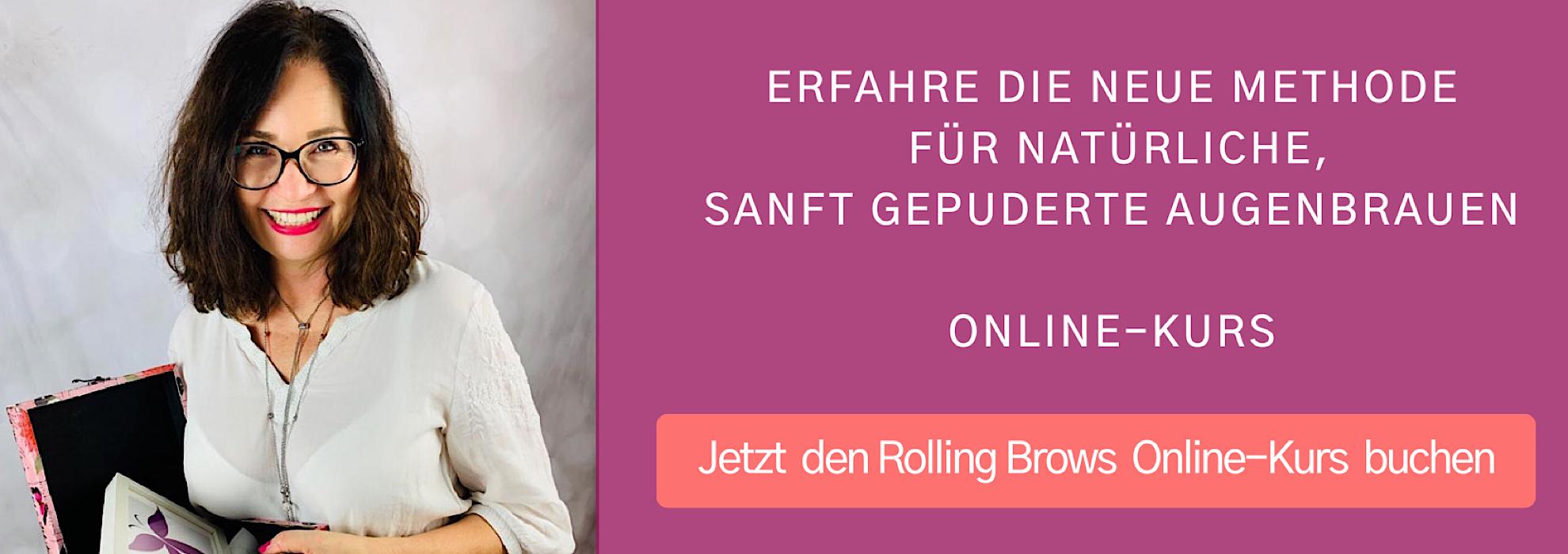 Augenbrauenschattierung Rolling Brows