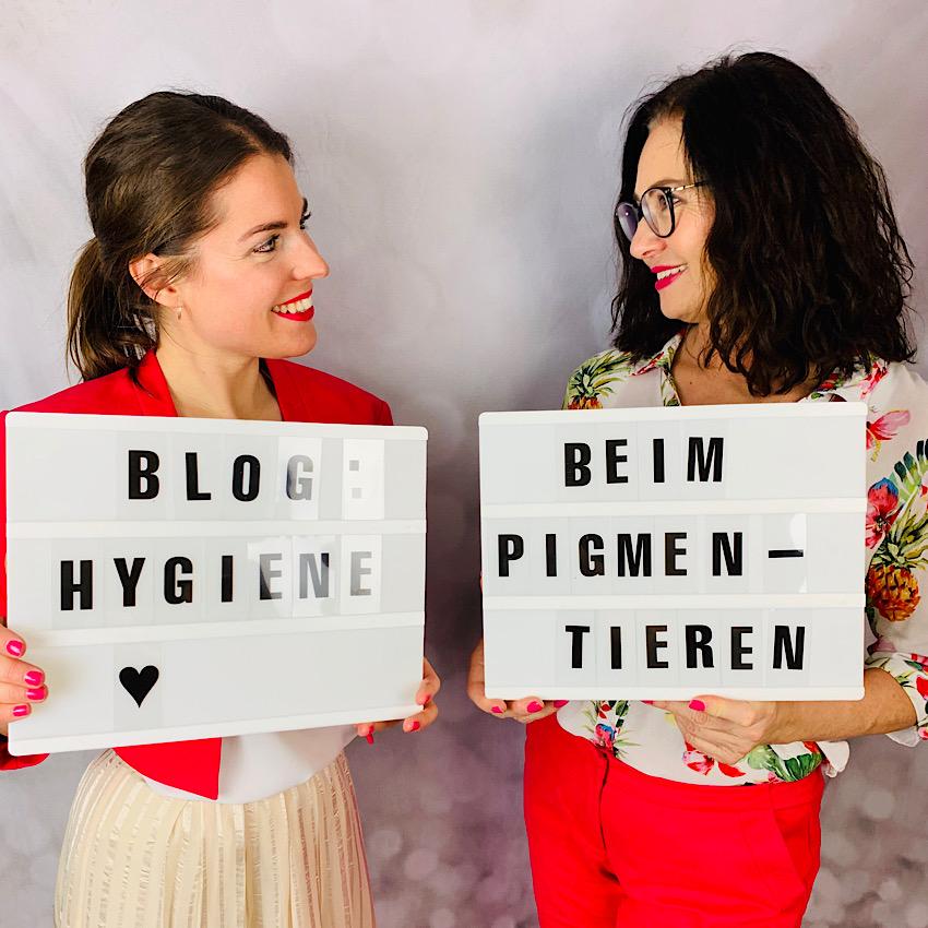 Hygiene beim Pigmentieren